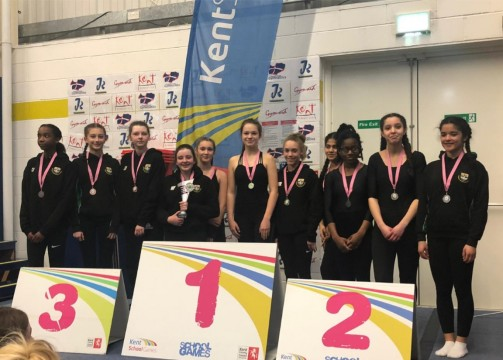 U15 inter girls team - 1st, 2nd & 3rd cropped photo