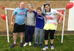Staff Team for Sports Relief